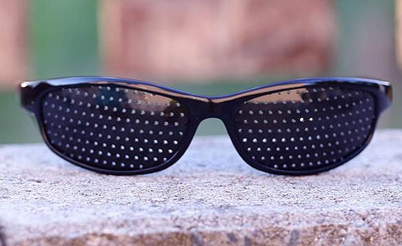 Děrované brýle Matrix